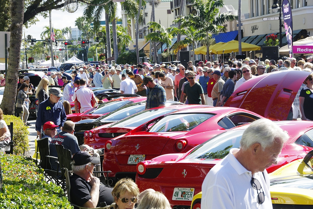 Cars On Th Divine Naples - Car show naples fl today