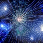 Real Fireworks on Display in Naples